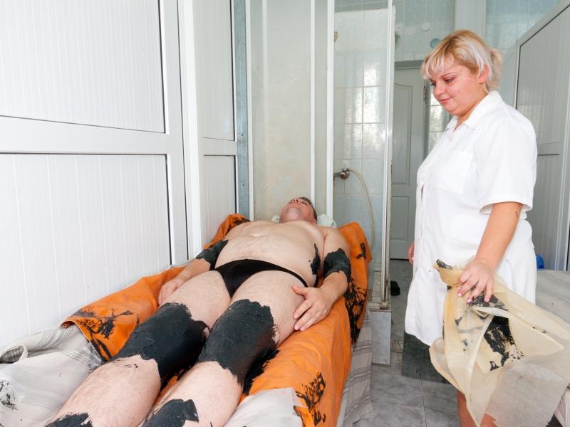 Аппликации грязевые при остеохондрозе