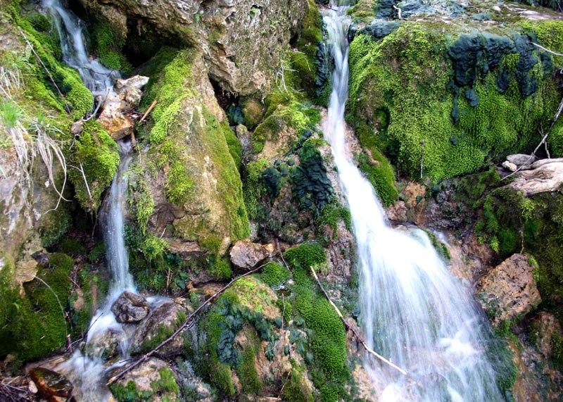 Есть в крыму и настоящие водопады