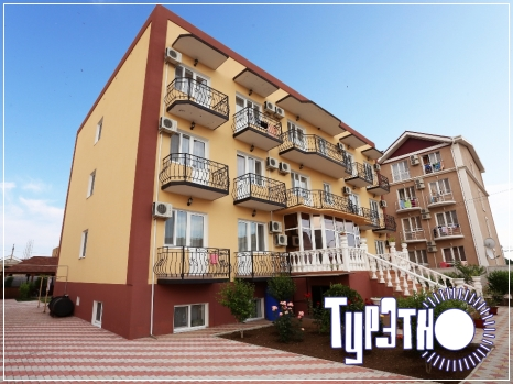 гостиница Ассоль, курорт Береговое